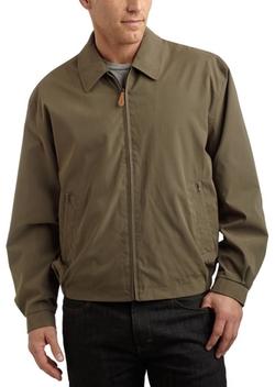 London Fog  - Big Auburn Zip Front Light Mesh Lined Jacket