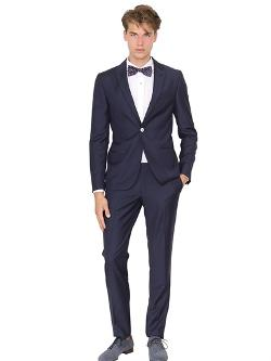 Royal Hem  - Wool Mohair Silk Blend Poplin Suit