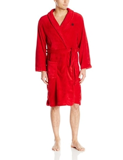 Tommy Hilfiger  - Solid Plush Robe
