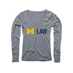 The M Den - Michigan Law School Long Sleeve Tee