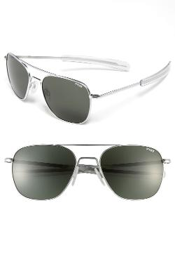 Randolph Engineering  - 58mm Aviator Sunglasses
