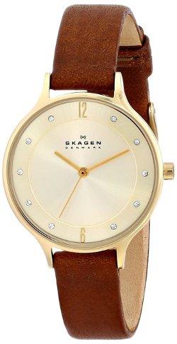 Skagen - Stainless Steel Dark Brown Watch