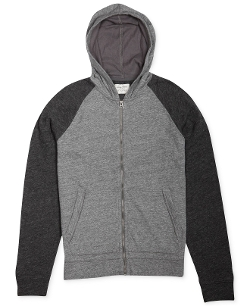 Lucky Brand - Colorblocked Full-Zip Hoodie
