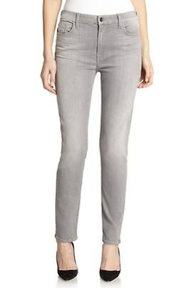 Jen7  - Skinny Faded Jeans
