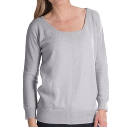 Brodie  - Lace Back Cashmere Sweater