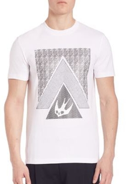 McQ by Alexander McQueen - Short Sleeve Printed Crewneck Tee