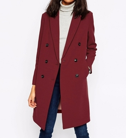 Asos Collection - Double Breasted Coat