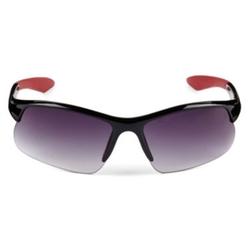Xersion - Semi-Rimless Sport Wrap Sunglasses