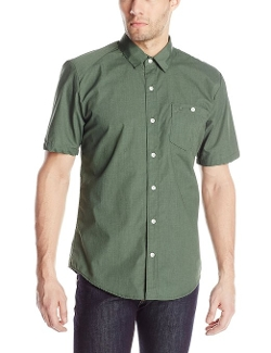 Volcom - Everett Solid Short Sleeve Shirt