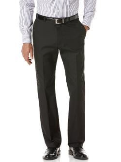 Perry Ellis - DRESSY CHINO FLAT FRONT PANT