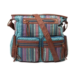 Journeys - Aztec Print Hobo Handbag