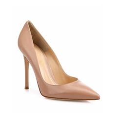 Gianvito Rossi  - Gianvito Leather Point-Toe Pumps