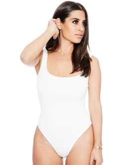 Naked Wardrobe - The NW Tank Bodysuit