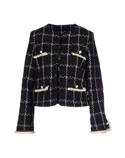La Camicia Bianca - Tweed Check Blazer