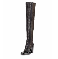 Laurence Dacade - Idylle Over-The-Knee Lace-Up Boots