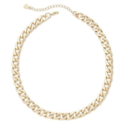 Monet - Curb Link Collar Necklace