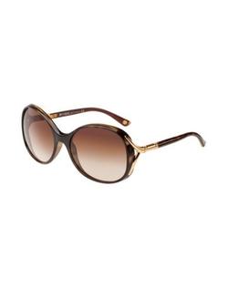 Vogue - Plastic Round Sunglasses