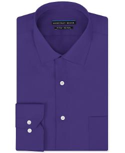 Geoffrey Beene  - Non-Iron Sateen Solid Dress Shirt
