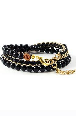 Domo Beads  - 50/50 Chain Wrap Bracelet