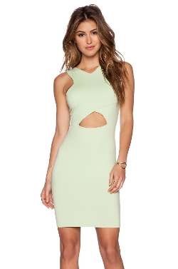 Revolve - V Strap Cut Out Mini Dress