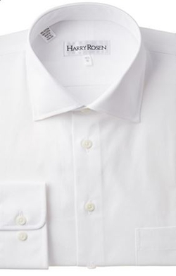 Harry Rosen  - Two-Ply Cotton Dress Shirt