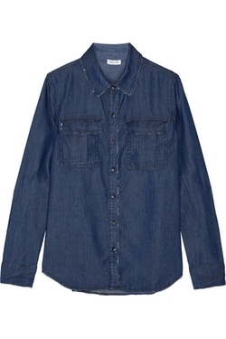 Splendid - Distressed Denim Shirt
