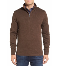 Bugatchi - Quarter Zip Pullover Sweater