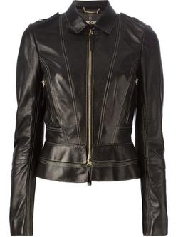 Roberto Cavalli - Seam Detailing Zip Jacket
