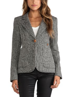 Mulberry & Me - Tweed Duchess Blazer