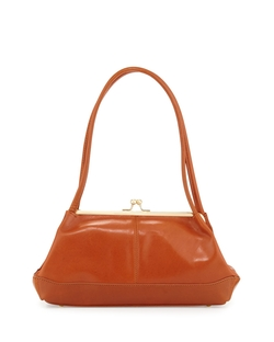 Hobo  - Gina Leather Kiss-Lock Handbag