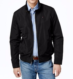 Tommy Hilfiger - Lightweight Full-Zip Stand-Collar Jacket
