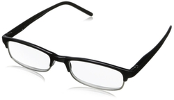 Peepers - Provocateur Black Wayfarer Reading Glasses