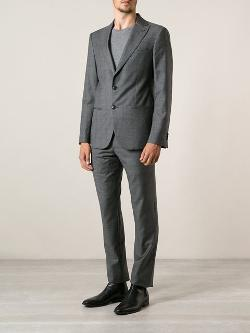 Giorgio Armani  - Patterned Suit