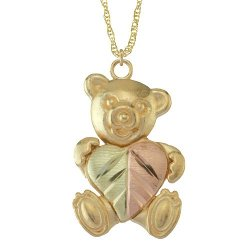 Black Hills  - Teddy Bear Necklace