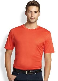 Salvatore Ferragamo  - Cotton Logo Tee Shirt
