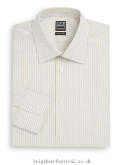 Ike Behar - Striped Dress Shirt