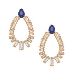 Trina Turk - Stone Doorknocker Earrings
