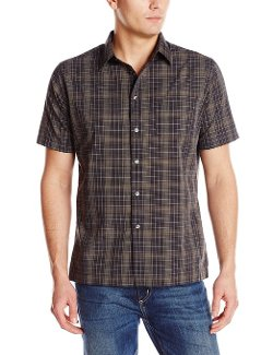 Van Heusen  - Short Sleeve Plaid Shirt