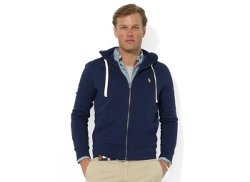 Polo Ralph Lauren  -  Core Full Zip Hooded Fleece Jacket