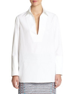 Tory Burch - Poplin Tunic