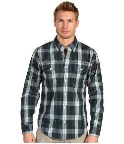 Jack Spade  - Bo Plaid Woven Button Down Shirt