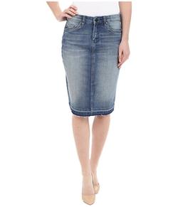 Blank NYC - Denim Released Hem Pencil Skirt