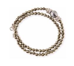 Armenta - Pearl & Diamond Wrap Bracelet