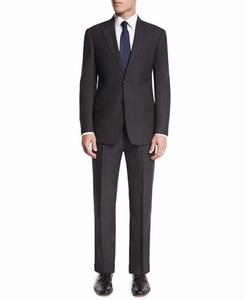 Armani Collezioni - G-Line Textured Super 150s Wool Two-Piece Suit