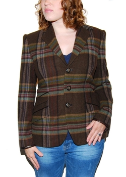 Polo Ralph Lauren - Cashmere Silk Italy Plaid Blazer