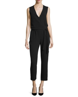 Theory  - Alvime Admiral Crepe Jumpsuit