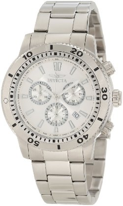 Invicta - Specialty Chronograph Silver Dial Watch