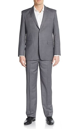 Yves Saint Laurent - Tonal Check Wool Suit