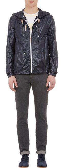 Shipley & Halmos  - Full-Zip Hooded Windbreaker Jacket