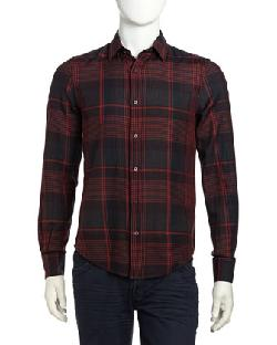 Vince - Plaid Woven Sport Shirt